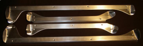 1954 Cadillac 4-Door Series 62 and Deville Door Sill Plate Set of 4 REPRODUCTION