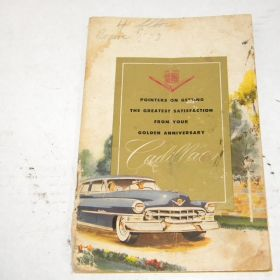 1952-cadillac-owners-manual-original-used