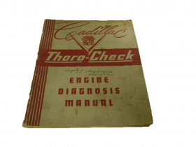 1949 Original Cadillac Engine Diagnosis Manual USED Free Shipping In The USA