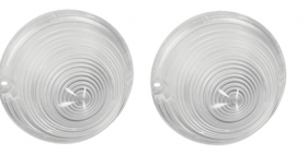 1958 Cadillac (See Details) Back Up Lenses 1 Pair REPRODUCTION Free Shipping In The USA
