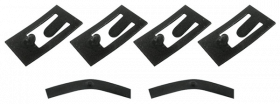1957 1958 Cadillac Seat Switch  Retaining Clip Set REPRODUCTION  Free Shipping In The USA (See Details)