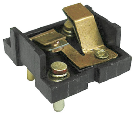 1958 Cadillac (EXCEPT Series 75 Limousine) Front Door Electronic Lock Switch Base (Center Notch) REPRODUCTION Free Shipping In The USA