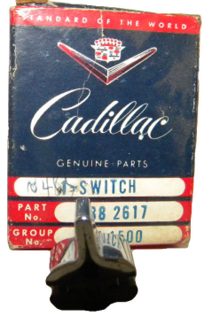 1954 1955 1956 1957 Cadillac Single Window Switch (Button Only) NOS Free Shipping In The USA