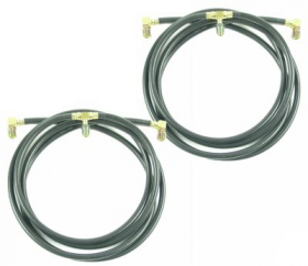 1959 1960 Cadillac Convertible Top Hose Set REPRODUCTION Free Shipping in the USA