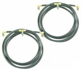 1962 Cadillac Convertible Top Hose Set REPRODUCTION Free Shipping in the USA