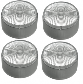 1959 Cadillac Tail Light Diffuser Lens Set (4 Pieces) REPRODUCTION Free Shipping In The USA