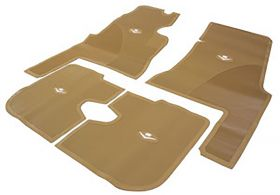 1959 1960 Cadillac 4-Door Tan Rubber Floor Mats (4 Pieces) REPRODUCTION Free Shipping In The USA