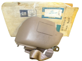 Cadillac ? Seat Belt TAN NOS Free Shipping In The USA