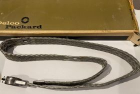 1952 1953 Cadillac Negative Braided Snap ring Style Battery Cable New Old Stock Free Shipping In The USA