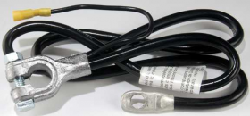 1970 Cadillac Eldorado Negative Battery Cable REPRODUCTION Free Shipping In The USA