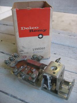 1953 1954 Cadillac Headlight Switch NOS