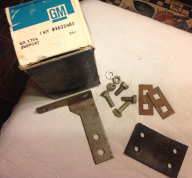 1964 Cadillac Series 75 & CC & 1965 Series 75 Exhaust Bracket Kit Rear of Front Muffler NOS Free Shipping In The USA