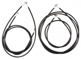 1957 1958 Cadillac Series 75 Limousine Air Conditioning (A/C) Vent Control Cable Set (5 pieces) REPRODUCTION Free Shipping In The USA