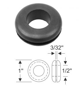 1941 1942 1946 1947 1948 1949 Cadillac Headlight Wire Firewall Grommet REPRODUCTION