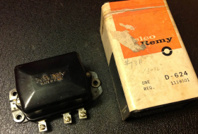 1957 1958 1959 1960 1961 1962 Cadillac Voltage Regulator (45 Amp A/C Cars) NOS Free Shipping In The USA