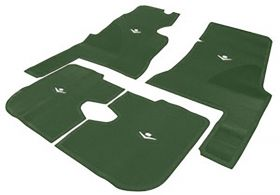 1959 1960 Cadillac 4-Door Green Rubber Floor Mats (4 Pieces) REPRODUCTION Free Shipping In The USA