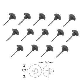 1948 1949 Cadillac Fleetwood Series 60 Special Rear Gravel Rubber Deflector Bumper Set (14 Pieces) REPRODUCTION Free Shipping In The USA