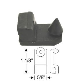 1948 1949 Cadillac (See Details) Door Lower Rubber Bumper REPRODUCTION Free Shipping In The USA