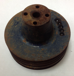1957 Cadillac Quadruple Grove Water Pump Pulley A/C Used