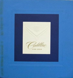 1954 Cadillac Full-Line Prestige Sales Brochure NOS Free Shipping In The USA
