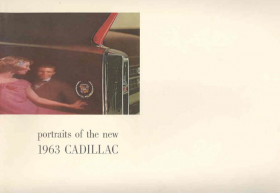 1963 Cadillac Full-Line Prestige Sales Brochure NOS Free Shipping In The USA
