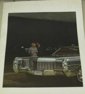 1965 Cadillac Full-Line Prestige Sales Brochure NOS Free Shipping In The USA