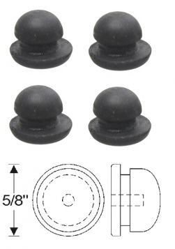 1941 1942 1947 1948 1949 Cadillac Body Plug 3/8 Set of 4 REPRODUCTION Free Shipping (See Details)