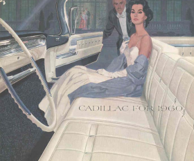1960 Cadillac Sales Brochure NOS Free Shipping In The USA