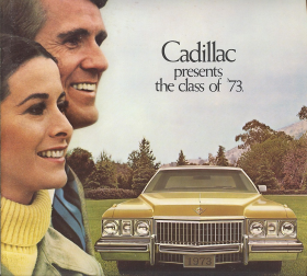 1973 Cadillac Presents The Class of 73 Sales Brochure NOS Free Shipping In The USA