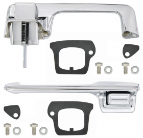 1967 1968 Cadillac 2-Door Coupe And Convertible (EXCEPT Eldorado) Exterior Door Handles 1 Pair REPRODUCTION Free Shipping In The USA