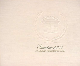 1980 Cadillac Full-Line Prestige Sales Brochure NOS Free Shipping In The USA