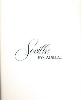 1976 Cadillac Seville Prestige Sales Brochure NOS Free Shipping In The USA