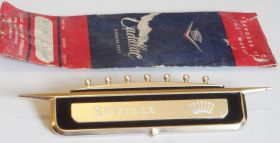 1958 Cadillac Seville Rear 1/4 Crest NOS Free Shipping In The USA