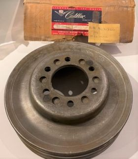 1958 1959 1960 1961 1962 Cadillac Crankshaft Triple Groove Pulley Cars W/Air Conditioning New Old Stock Free Shipping In The USA