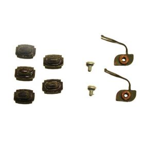 1963 1964 1965 Cadillac (See Details) Front Door Lower Molding Clips Set of 9 Pieces NOS Free Shipping In The USA