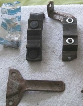 1974 Cadillac (See Details) Exhaust Hanger Tail Pipe Rear Support With Insulator NOS Free Shipping In The USA