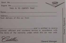 1956-1957-1958-1959-1960-1961-cadillac-owners-id-card