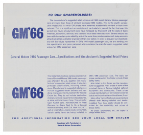1966-gm-passenger-car-dealer-price-booklet-8-pages-includes-cadillac-reproduction