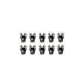 Cadillac Emblem And Script 1/8 Inch Stud Barrel Nut Set ( For 5/32 Inch Holes) (10 Pieces) REPRODUCTION