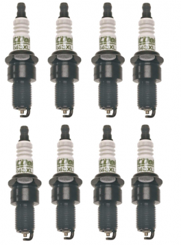 1970 1971 1972 1973 1974 Cadillac Spark Plugs A/C Delco Set of 8 (Copper)  REPRODUCTION Free Shipping In The USA