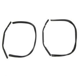 1935 1936 Cadillac (See Details) Rear Quarter Vent Window Rubber Weatherstrips 1 Pair REPRODUCTION Free Shipping In The USA