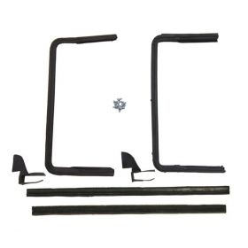1956 Cadillac Sedan Deville Vent Window Rubber Weatherstrip Kit (4 Pieces) REPRODUCTION Free Shipping In The USA