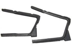 1958 Cadillac 4-Door Hardtop (See Details) Rear Vent Window Rubber Weatherstrips 1 Pair REPRODUCTION Free Shipping In The USA