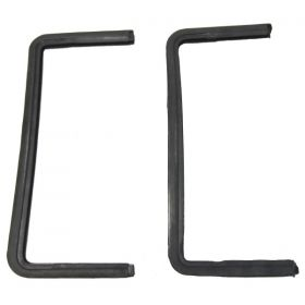 1954 1955 1956 Cadillac 4-Door (See Details) Front Vent Window Weatherstrips 1 Pair REPRODUCTION Free Shipping In The USA