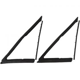 1963 1964 Cadillac 2-Door Hardtop Vent Window Rubber Weatherstrip Kit (4 Pieces) REPRODUCTION Free Shipping In The USA