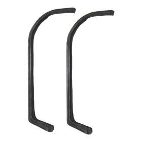 1959 1960 1961 1962 1963 1964 1965 Cadillac Series 75 Limousine Vent Window Weatherstrips 1 Pair REPRODUCTION Free Shipping In The USA