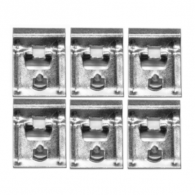 1954 1955 1956 1957 1958 1959 1960 Cadillac Rocker Panel Clips Set 6 Pieces REPRODUCTION Free Shipping In The USA