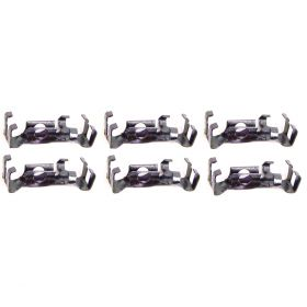 1959 1960 Cadillac Rear Quarter Top Fin Molding Clip Set (6 Pieces) REPRODUCTION Free Shipping In The USA