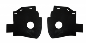 1954 1955 1956 Cadillac Rear Bumper End Fillers 1 Pair REPRODUCTION Free Shipping In The USA