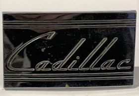 1938 Cadillac Radio Blank Out Plate Used Free Shipping In The USA
